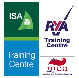 Bowwaves are fully certified as a training school by the Irish Sailing Association, Department of Transport and The Royal Yachting Association.